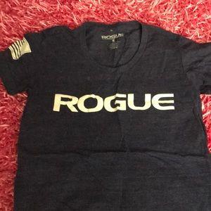 Rogue shirt plain on the back